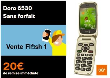 Telephone mobile pour senior orange