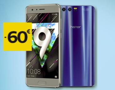Bon plan   une remise immédiate de 60 euros pour l achat d un Honor 9 ou  Honor 6X chez SFR e6ed0fe47bac