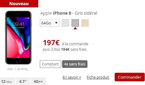iphone 8 free mobile baisse le prix des anciens mod les d 39 iphone. Black Bedroom Furniture Sets. Home Design Ideas