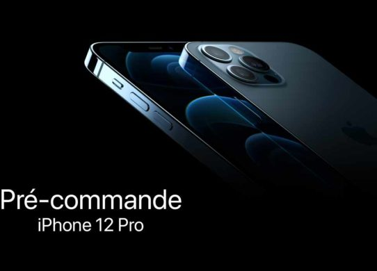 précommande iphone 12 pro