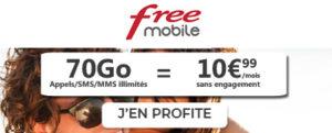 Forfait Free 70Go