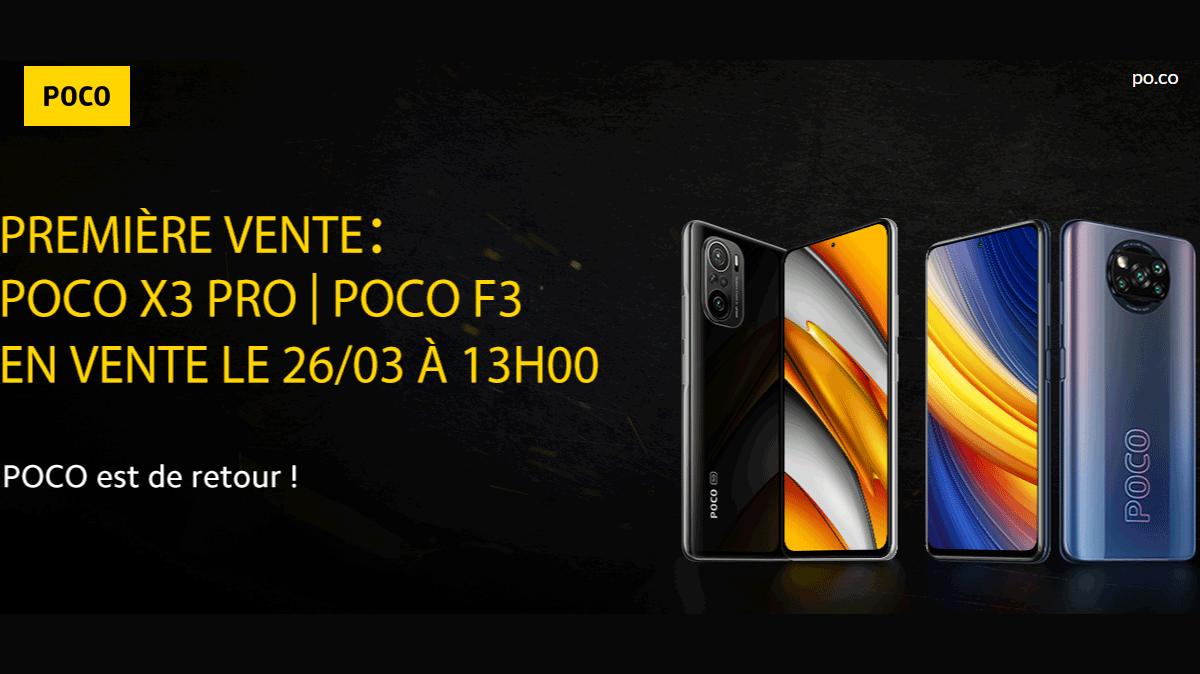 Poco F3 et Poco X3 Pro: Xiaomi officialise deux nouveaux smartphones orientés gaming