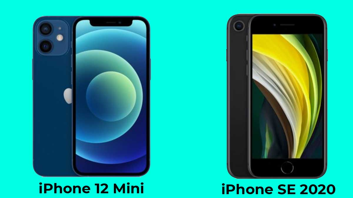 iPhone 12 Mini ou iPhone SE 2020, quel smartphone compact d'Apple choisir ?