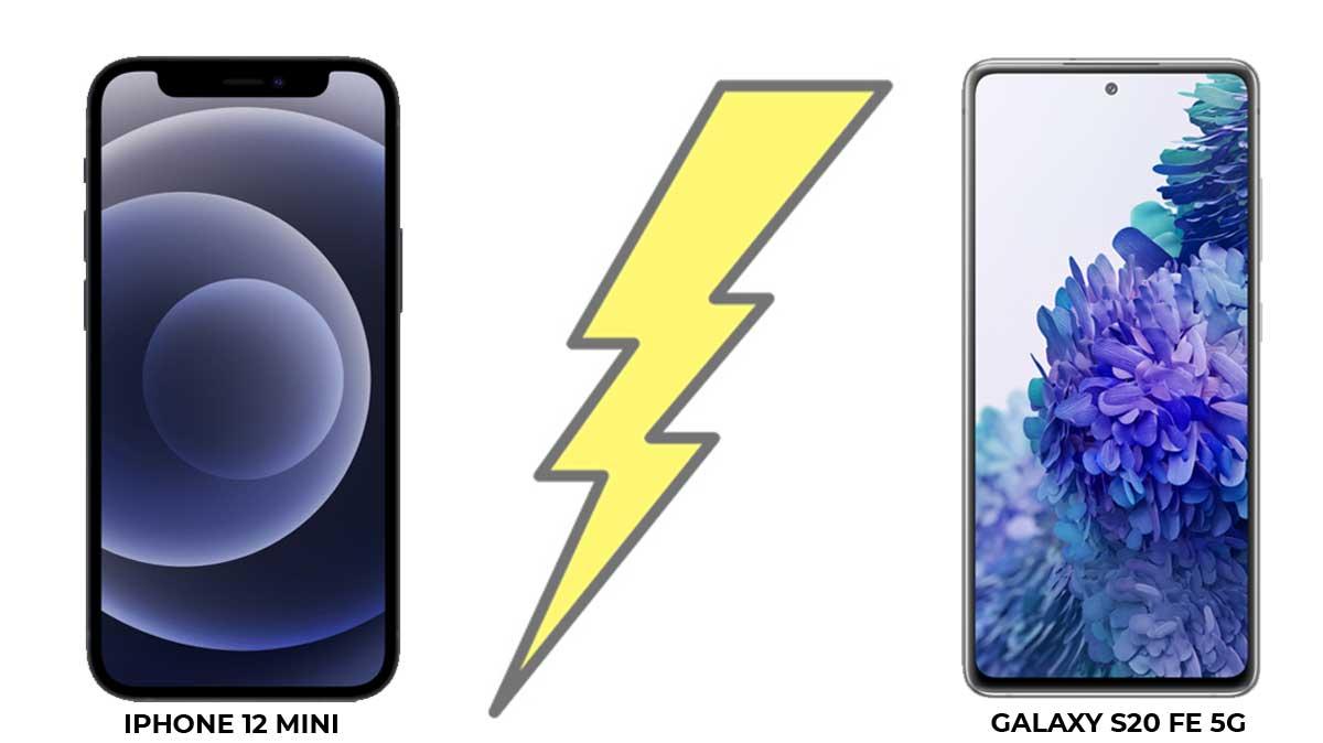 iPhone 12 mini ou Galaxy S20 FE 5G, lequel choisir ?