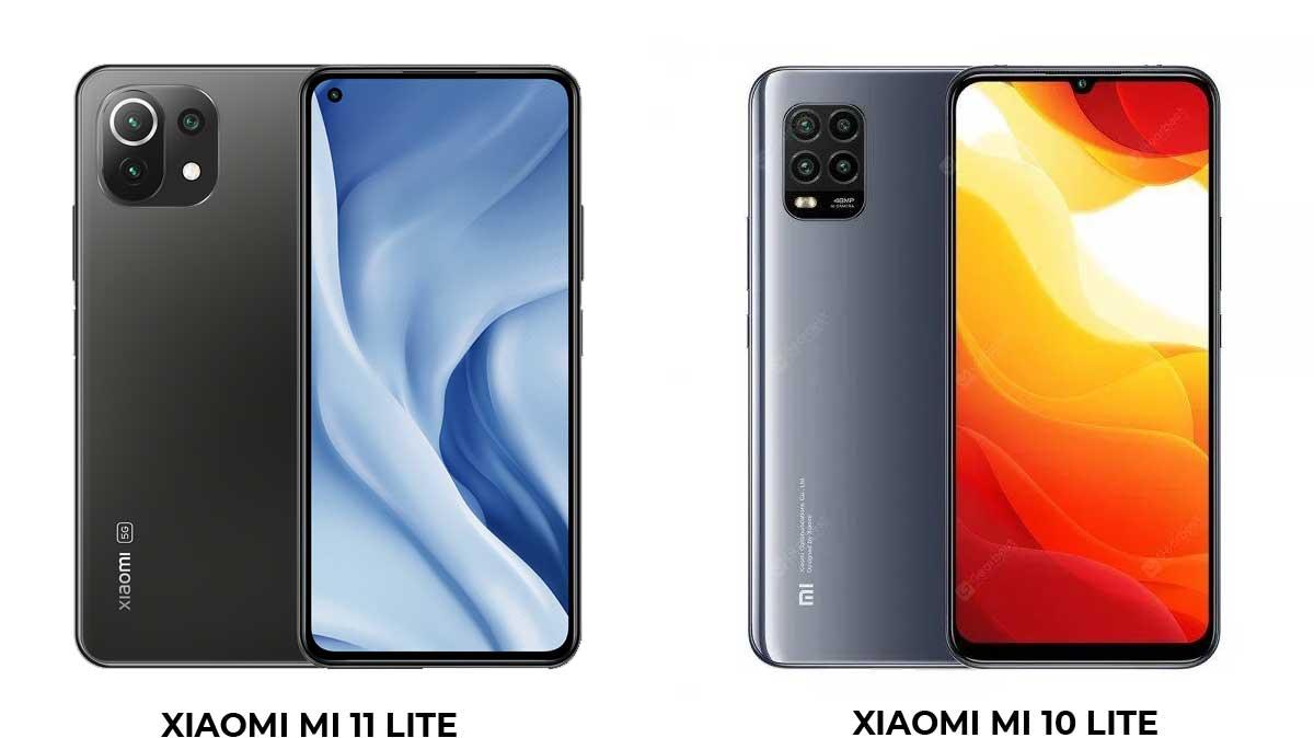 Xiaomi Mi 10 Lite vs Xiaomi Mi 11 Lite : quelles sont les différences ?