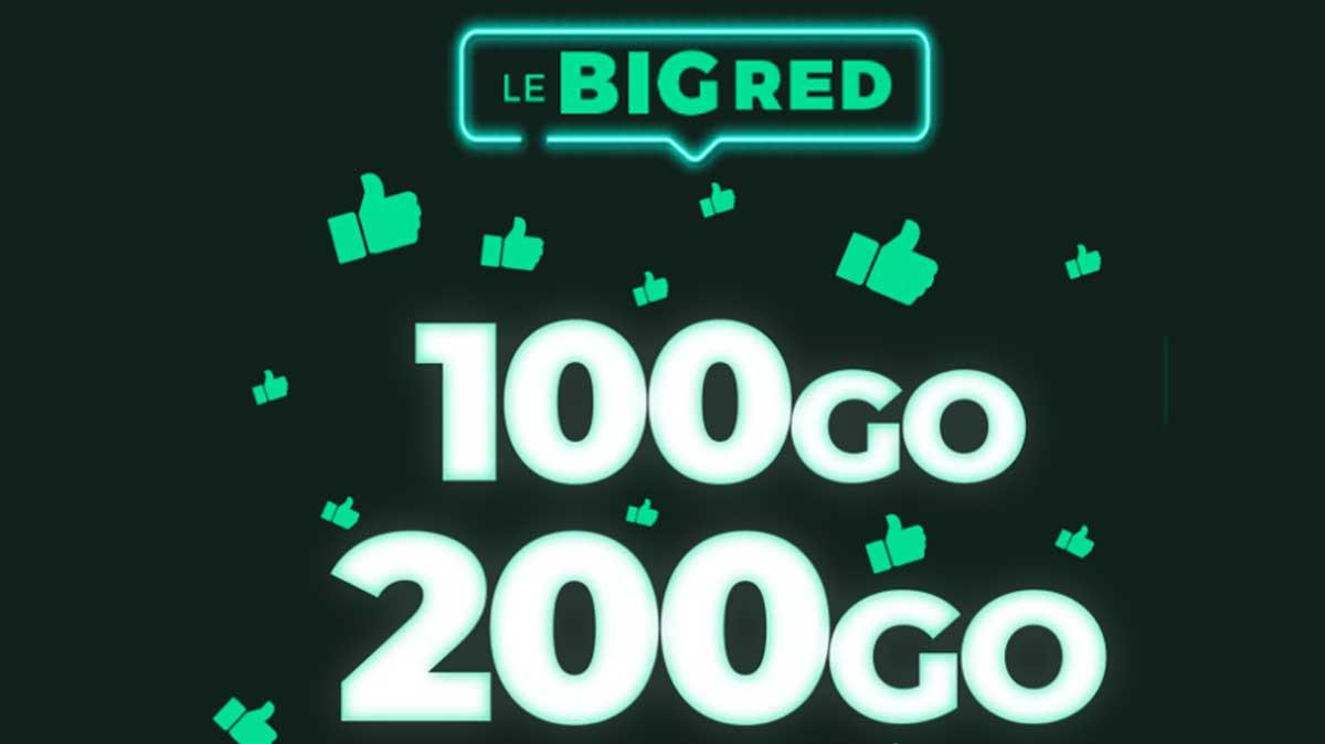 Forfait mobile à prix cassés : Dernier jour pour les promos BIG RED !