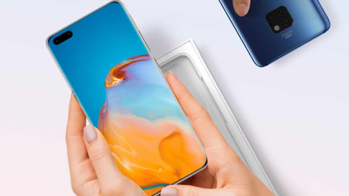 Huawei P50: le lancement officiel en Europe se précise