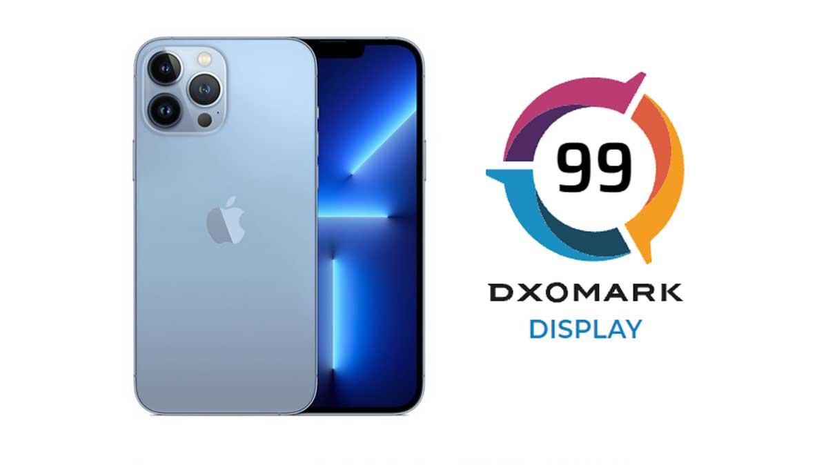 iPhone 13 Pro: n°4 au classement DxOMark sur la photo et la vidéo