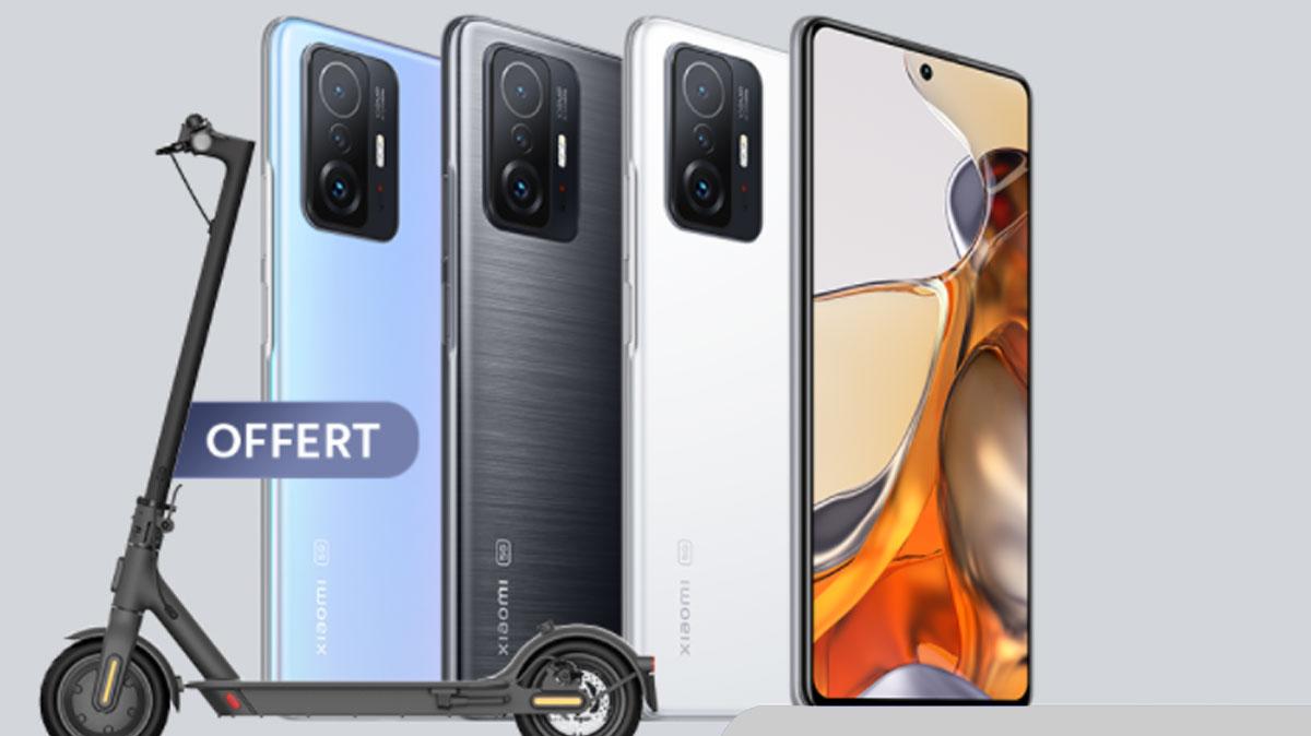 Xiaomi 11T et Xiaomi 11T Pro disponibles en précommande: lequel acheter?