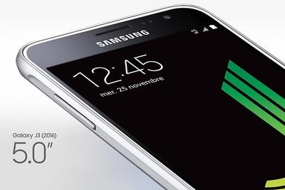 Bon Plan SOLDES : Le Galaxy J3 2016 à 109€ Cdiscount