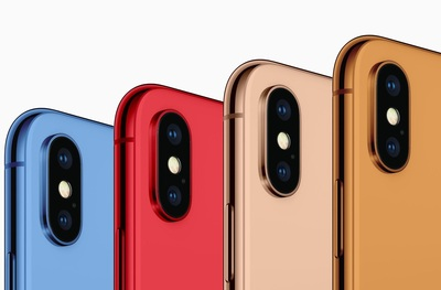 Les prochains iPhone disponibles en couleur bleue, rouge et orange ?